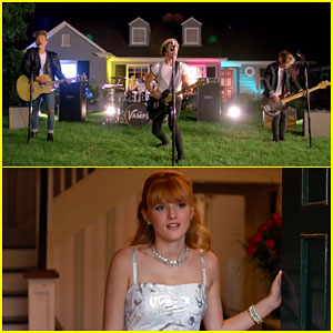 The Vamps Rock Out with Bella Thorne in Their New Music Video for 'Hurricane'!