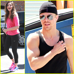 Derek Hough Didn't Know Who Bethany Mota Was Before 'DWTS'
