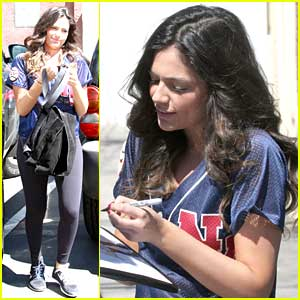 Bethany Mota Takes Fans Inside 'DWTS' Rehearsal - Watch Her New Vlog!