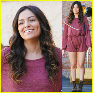 Bethany Mota & Derek Hough Get Ready to Jive on DWTS!