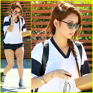 Brenda Song Nails Sporty Chic During Lunch in Studio City