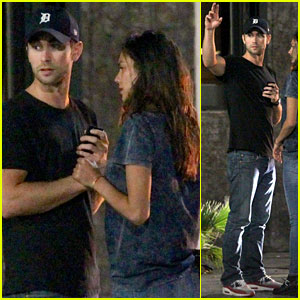 Chace Crawford Holds Hands with a Girl After Night Out!