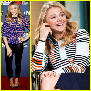 Chloe Moretz Likes to Rock Out to Taylor Swift's 'Shake It Off'!