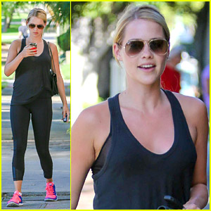 Claire Holt Hits Gym After Mexican Getaway