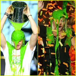 Cody Simpson Slimes Himself at Slimefest 2014 in Melbourne!