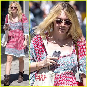 Dakota Fanning Tries to Live a Normal Life