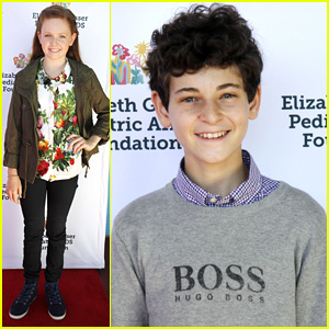 Gotham's David Mazouz & Clare Foley Buddy Up at Kids 4 Kids Family Festival