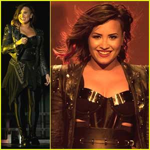 Demi Lovato & Joe Jonas Reunite For 'This Is Me' At LA Concert - Watch Here!