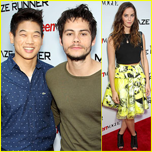Dylan O'Brien & 'The Maze Runner' Cast Buddy Up in NYC!