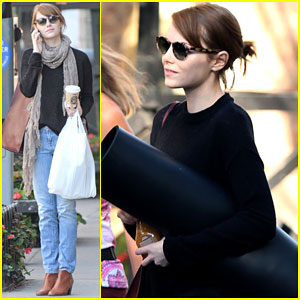 Emma Stone Thinks Woody Allen Movies Are Like Real Life!