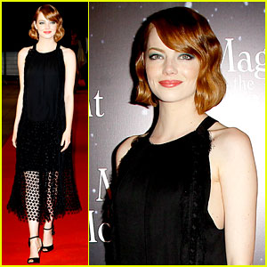 Emma Stone Looks Magical in the Parisian 'Moonlight'