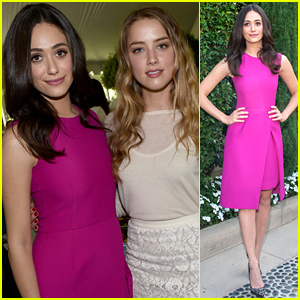 Emmy Rossum Lends Her Support at the Rape Foundation Annual Brunch