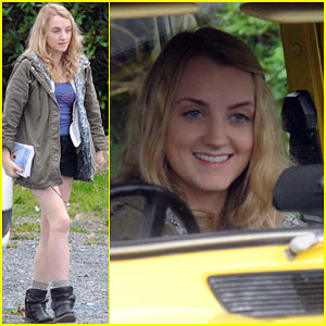 Evanna Lynch is Psyched About Her First Day of Filming 'My Name is Emily'!