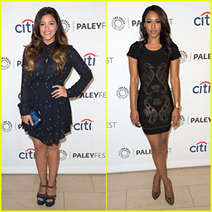 Jane The Virgin's Gina Rodriguez and The Flash's Candice Patton Preview Their New Shows at PaleyFest