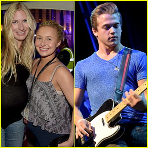 Hayden Panettiere & Hunter Hayes Hang at the Food & Wine Festival in Nashville!