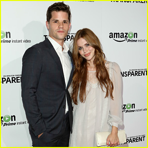 Holland Roden & Max Carver Couple Up for 'Transparent' Premiere