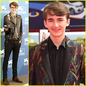 Isaac Hempstead-Wright Brings 'Boxtolls' Eggs To Venice Film Festival
