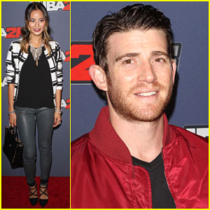 Jamie Chung & Bryan Greenberg Are Red Carpet Ready at NBA 2K15!
