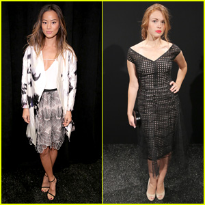 Jamie Chung & Holland Roden are Lovely 'Lela Rose' Ladies!