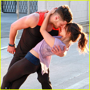 Janel Parrish & Val Chmerkovskiy Show Off 'DWTS' Moves