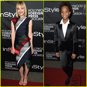 Jena Malone & Quvenzhane Wallis are TIFF 2014 Party Pals