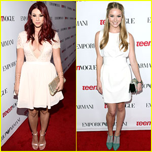 Jillian Rose Reed & Greer Grammer Get 'Awkward' at Teen Vogue Young Hollywood Party 2014!