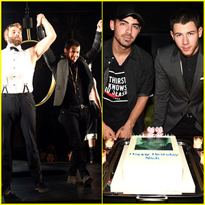 Nick & Joe Jonas Are Quite a Hot Pair of Brothers at Queen of the Night!
