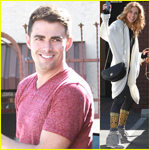 Jonathan Bennett Fits in One Last Rehearsal Before First 'DWTS' Episode!