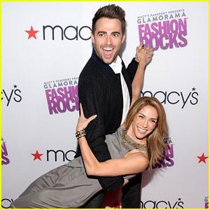 Jonathan Bennett & Allison Holker Dance Their Way To Glamorama Fashion Rocks Event