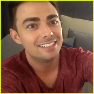 Jonathan Bennett Admits to Pre-Premiere Nerves in 'DWTS' Week 1 Video Blog (JJJ Exclusive)