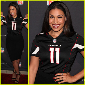 Jordin Sparks Supports the Arizona Cardinals at NFL's Inaugural Hall of Fashion Launch