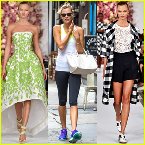 Karlie Kloss Owns the Oscar De La Renta Runway