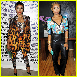 Kat Graham Attends Even More Fashion Shows During NYFW