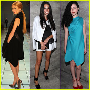 Katherine McNamara & Chloe Bridges Are Pretty Little Fashionistas at New York Fashion Week!