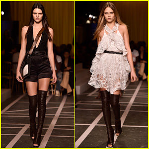 Kendall Jenner & Cara Delevingne are Gorgeous Givenchy Girls!