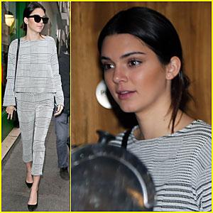 Kendall Jenner Thinks Paris is Jazz