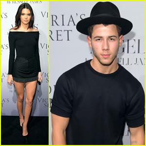 Kendall Jenner & Nick Jonas Support Russell James at 'Angel' Book Launch