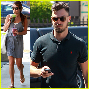 Lea Michele & Her Boyfriend Matthew Paetz Spend Time Together Over the Weekend
