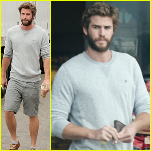 Liam Hemsworth Steps Out After Miley Cyrus' Love Declaration