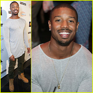 Michael B. Jordan Plays Poker to Get Lucky For Lupus!