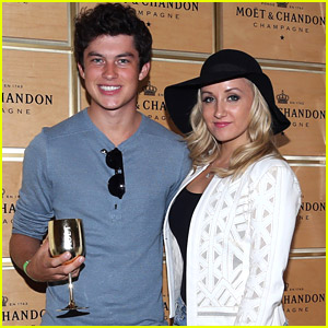 Nastia Liukin Catches U.S. Open Match with Graham Phillips