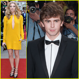 Natalie Dormer & Freddie Highmore Hit Up the GQ Men of the Year Awards 2014