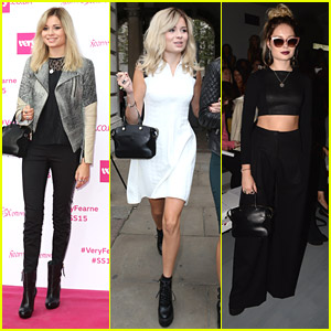 Singer Nina Nesbitt Kicks Off London Fashion Week
