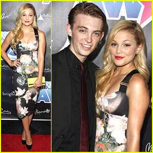 Olivia Holt & Dylan Riley Snyder Join DWTS Pros For Industry Dance Awards 2014