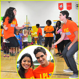 Every Witch Way's Paola Andino & Nick Merico Celebrate Worldwide Day of Play in Virginia Beach