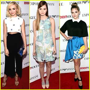 Peyton List Goes Short For Teen Vogue's Young Hollywood Party 2014