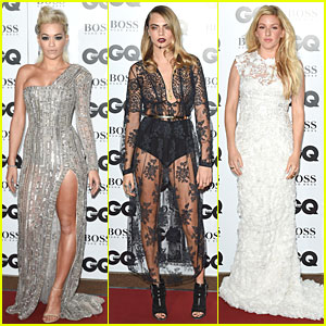Cara Delevingne & Rita Ora Have Legs For Days at GQ Men of the Year Awards 2014
