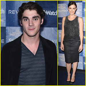 RJ Mitte is Dashing in Denim at People Stylewatch Party!