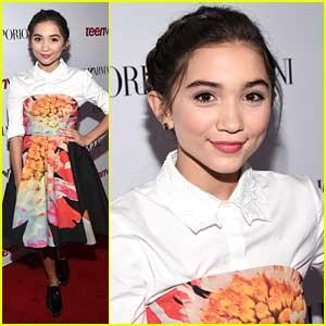 Rowan Blanchard 'Meets' Teen Vogue's Young Hollywood Party 2014