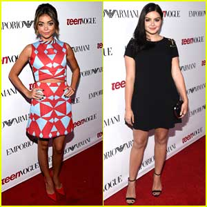 Sarah Hyland & Ariel Winter Are A Fashionable 'Family' at Teen Vogue's Young Hollywood Party 2014